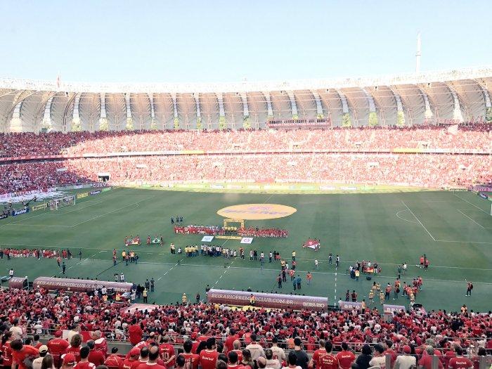 Beira-Rio lotado com mais de 43 mil torcedores