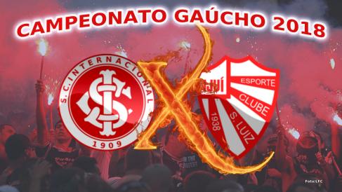 Internacional vs São Luiz pela 9ª rodada do Gauchão 2018 (Foto/LFC)