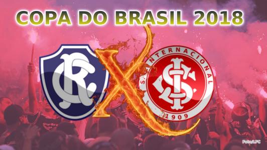 Remo vs Internacional pela Segunda Fase da Copa do Brasil (Foto/LFC)
