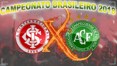 Internacional vs Chapecoense - Brasileirão 2018 - 6ª rodada