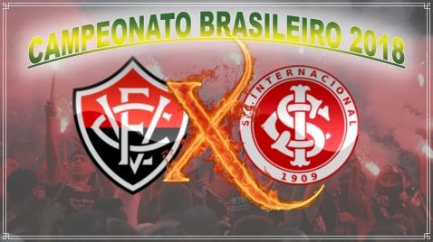 Vitória vs Internacional - Campeonato Brasileiro 2018 - 8ª rodada