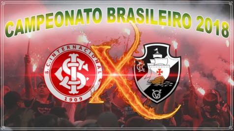 Internacional vs Vasco - Brasileirão 2018 - 12ª rodada
