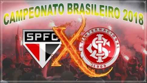 São Paulo vs Internacional - Brasileirão 2018 - 10ª rodada