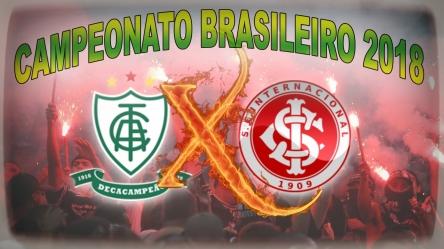 AmericaMG vs Internacional - Brasileirão 2018 - 15ª rodada (2)