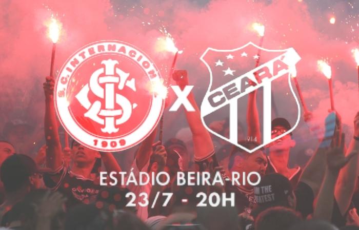 Internacional vs Ceará - Brasileirão 2018 - 14ª rodada