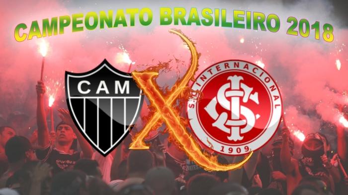 AtléticoMG vs Internacional - Brasileirão 2018 - 17ª rodada
