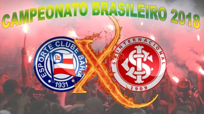 Bahia vs Internacional - Brasileirão 2018 - 20ª rodada