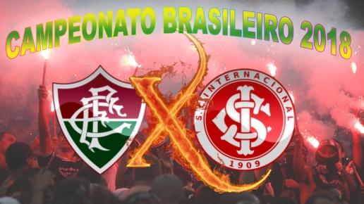 Fluminense vs Internacional - Brasileirão 2018 - 18ª rodada