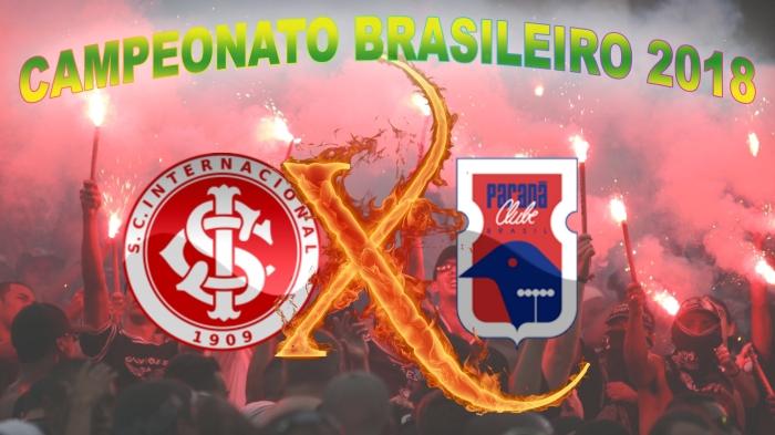 Internacional vs Paraná - Brasileirão 2018 - 19ª rodada