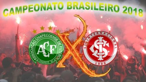 Chapecoense vs Internacional - Brasileirão 2018 - 25ª rodada