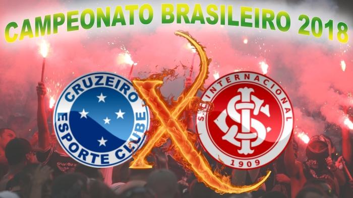 Cruzeiro vs Internacional - Brasileirão 2018 - 22ª rodada