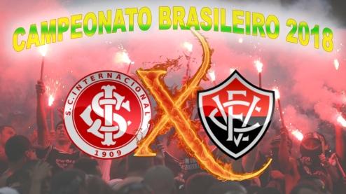 Internacional vs Vitória -Brasileirão 2018 - 27ª rodada
