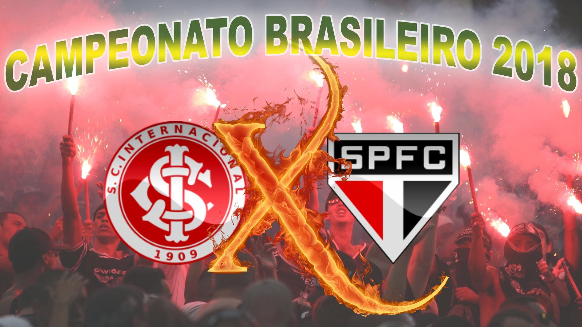 Internacional vs São Paulo - Brasileirão 2018 - 29ª rodada
