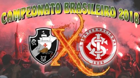 Vasco vs Internacional - Brasileirão 2018 - 31ª rodada