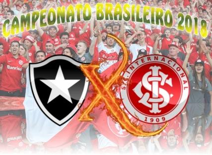 Brasileirão 2018: Botafogo/RJ vs Internacional