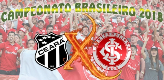 Ceará vs Internacional - Brasileirão 2018 - 33ª rodada