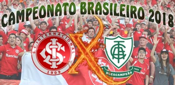 Internacional vs América/MG - Brasileirão 2018 - 34ª rodada