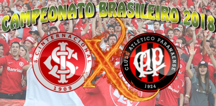 Internacional vs AtléticoPR - Brasileirão 2018 - 32ª rodada