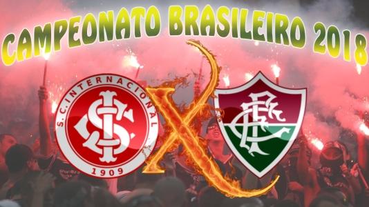 Internacional vs Fluminense - Brasileirão 2018 - 37ª rodada