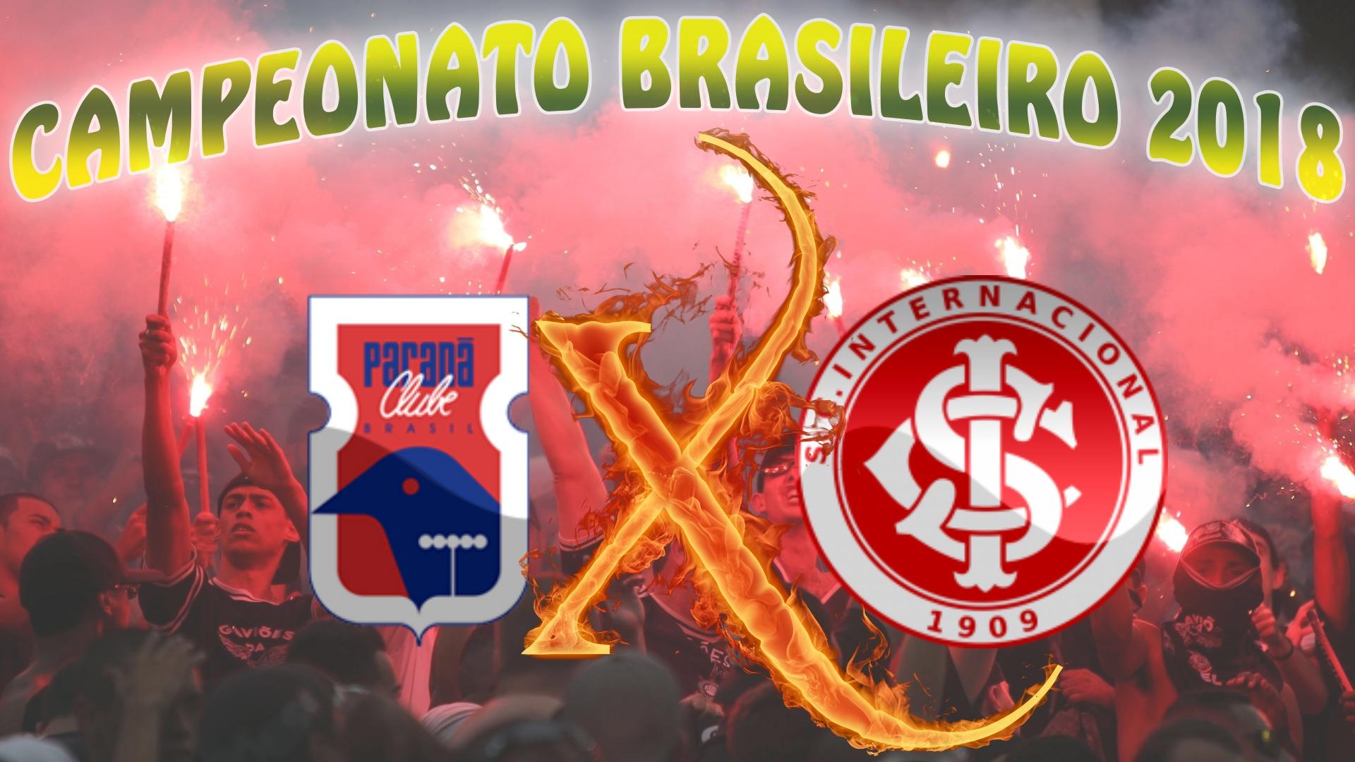 Paraná vs Internacional - Brasileirão 2018 - 38ª rodada