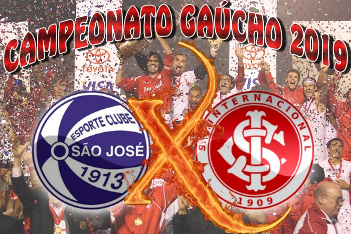 Gauchão 2019: São José/RS vs Internacional - 3ª rodada