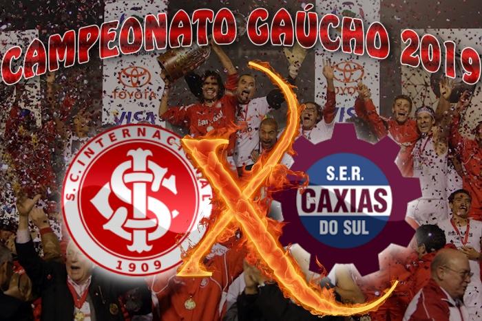 Internacional vs Caxias - Gauchão 2019 - 7ª rodada