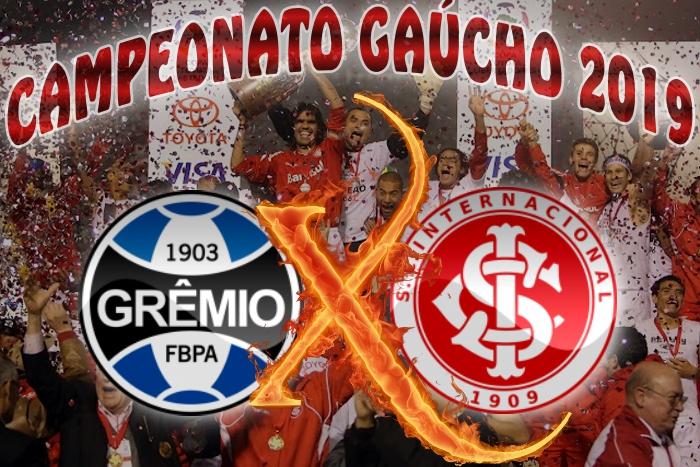 Grêmio vs Internacional - Gauchão 2019 - 10ª rodada