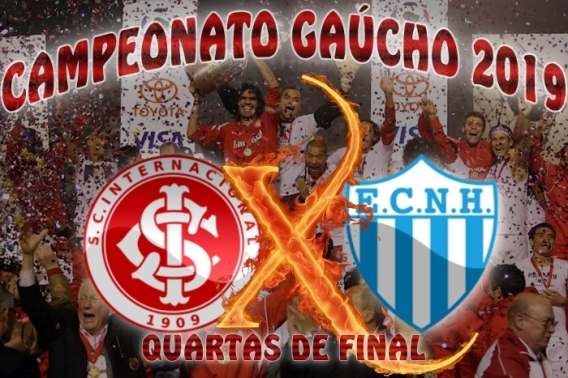 Internacional vs Novo Hamburgo - Gauchão 2019 - Quartas de Final