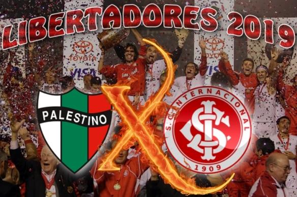Libertadores 2019 - Palestino vs Internacional - 1ª rodada