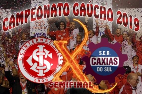Internacional vs Caxias - Gauchão 2019 - Semifinais