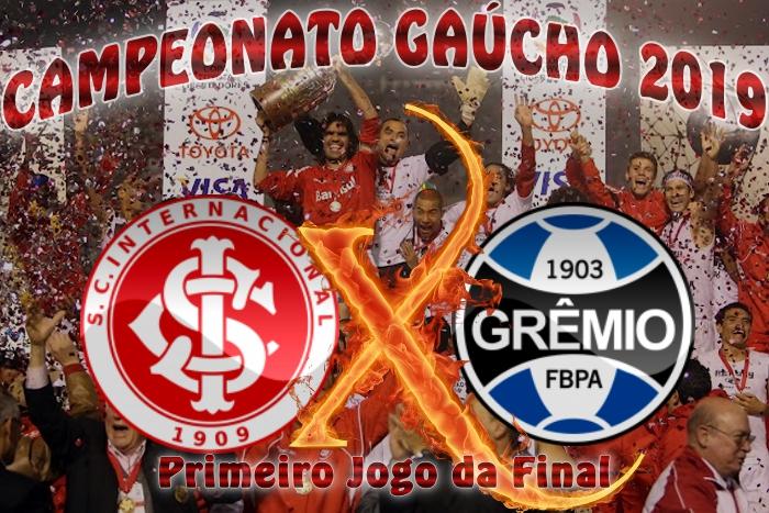 Internacional vs Grêmio - Gauchão 2019 - 1ª jogo da final