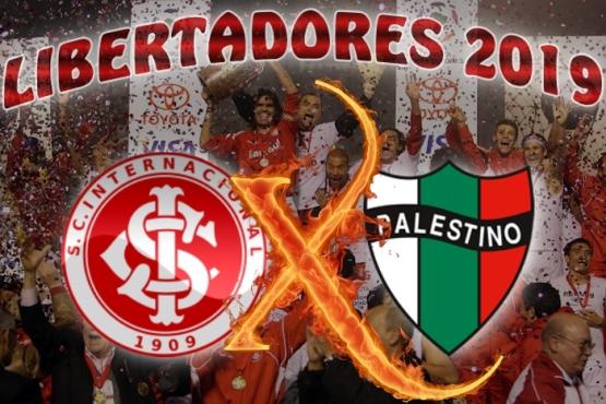 Libertadores 2019 - Internacional vs Palestino - Grupo A - 4ª rodada