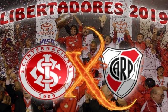 Libertadores 2019- Internacional vs River Plate - 3ª rodada - Fase de Grupo