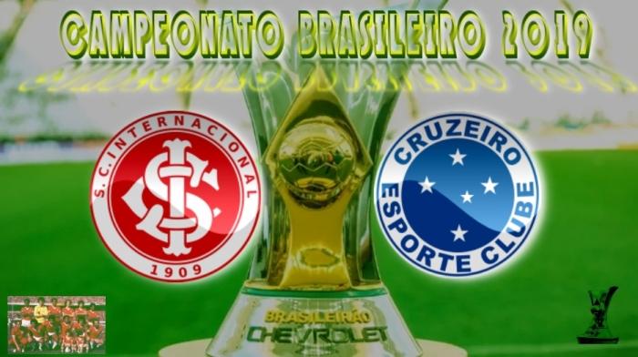 BRASILEIRÃO 2019 - Internacional vs Cruzeiro - 4ª rodada