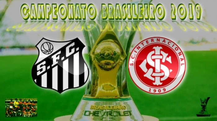 Brasileirão 2019 - Santos vs Internacional - 6ª rodada