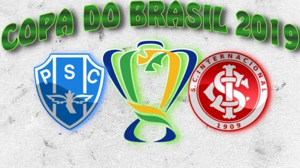 Copa do Brasil 2019 - Paysandu vs Internacional - 2ª jogo das Oitavas de Final