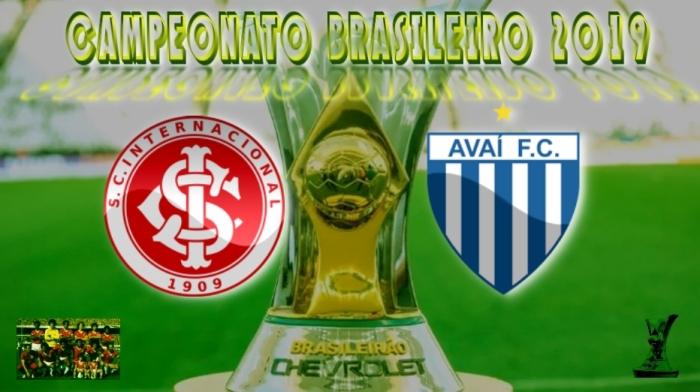 Brasileirão 2019 - Internacional vs Avaí - 7ª rodada