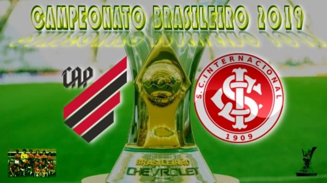 Brasileirão 2019 - AthleticoPR vs Internacional - 10ª rodada
