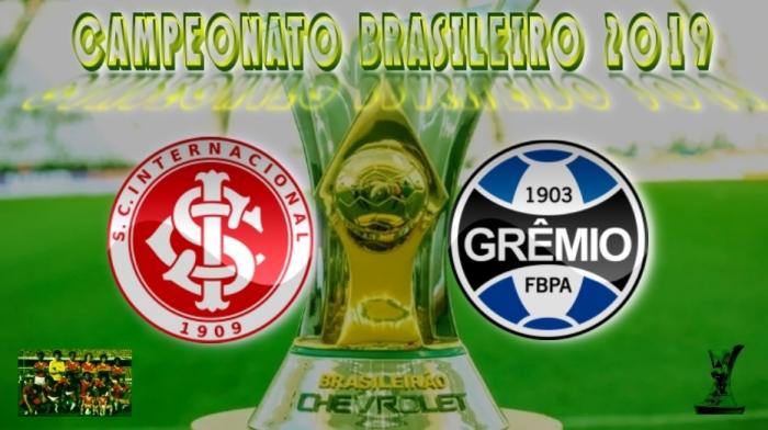 Brasileirão 2019 - Internacional vs Grêmio - 11ª rodada