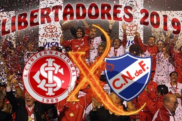 Libertadores 2019 - Internacional vs Nacional-URU