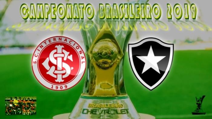 Brasileirão 2019 - Internacional vs Botafogo-RJ - 17ª rodada