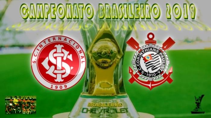 Brasileirão 2019 - Internacional vs Corinthians - 14ª rodada