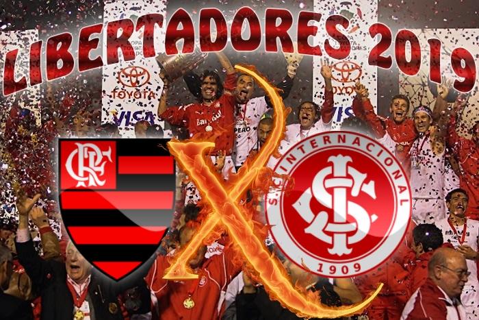 Libertadores 2019 - Flamengo vs Internacional - quartas de final