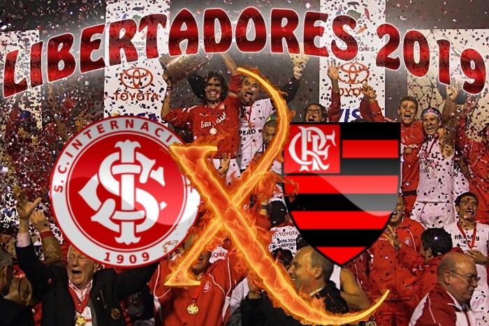 Libertadores 2019 - Internacional vs Flamengo - quartas de final