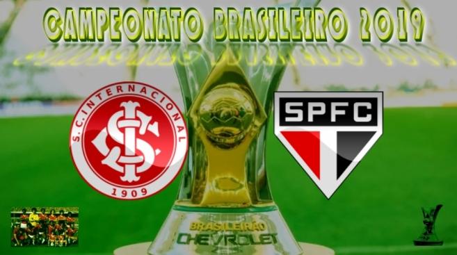 Brasileirão 2019 - Internacional vs São Paulo - 18ª rodada