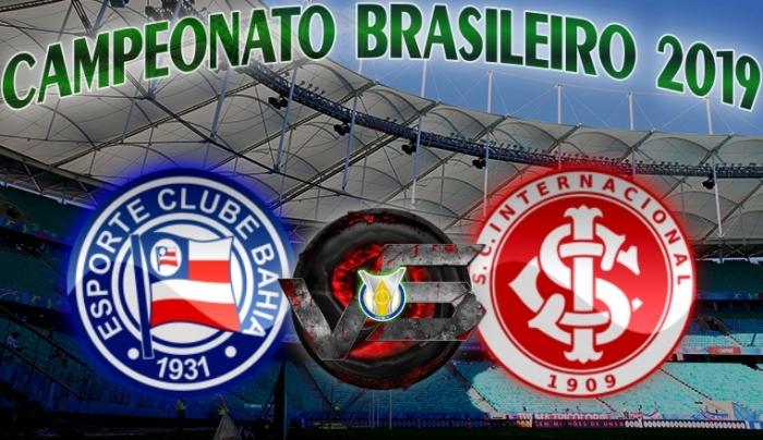 Brasileirão 2019 - Bahia vs Internacional - 28ª rodada