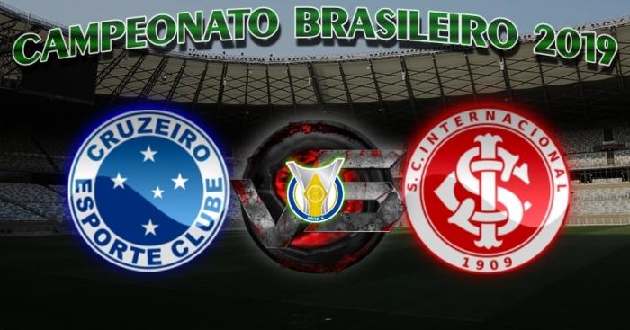 Brasileirão 2019 - Cruzeiro vs Internacional - 23ª rodada