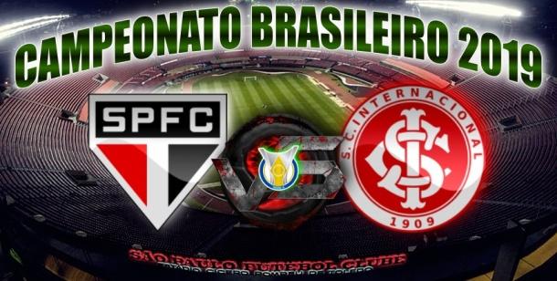 Brasileirão 2019 - São Paulo vs Internacional - 37ª rodada