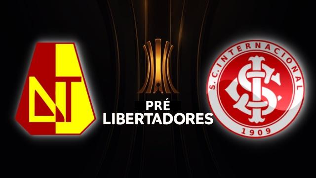 Pré-Libertadores 2020 - Tolima vs Internacional