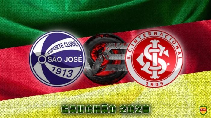 Gauchão 2020 - São Jose vs Internacional